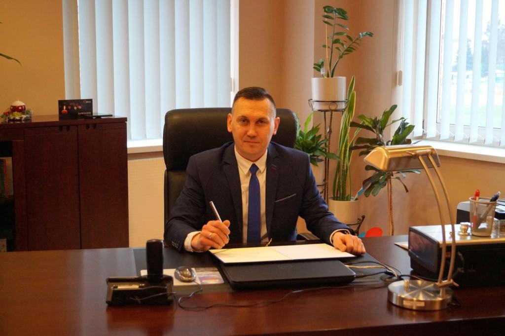 Marcin Kotyczka - Wójt Gminy Ornontowice
