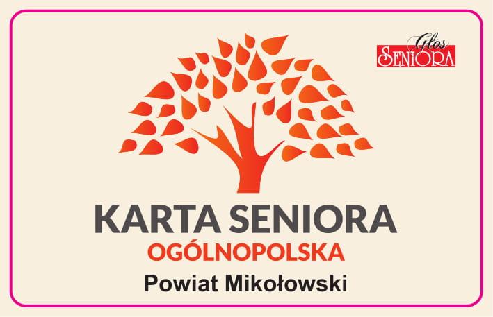 Awers Ogólnopolskiej Karty Seniora