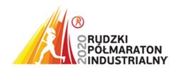 logo Rudzkiego Półmaratonu Industrialnego 2020