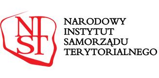 Logo Narodowego Instytutu Samorządu Terytorialnego.
