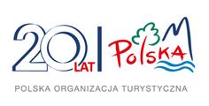 Logo Polskiej Organizacji Turystycznej.