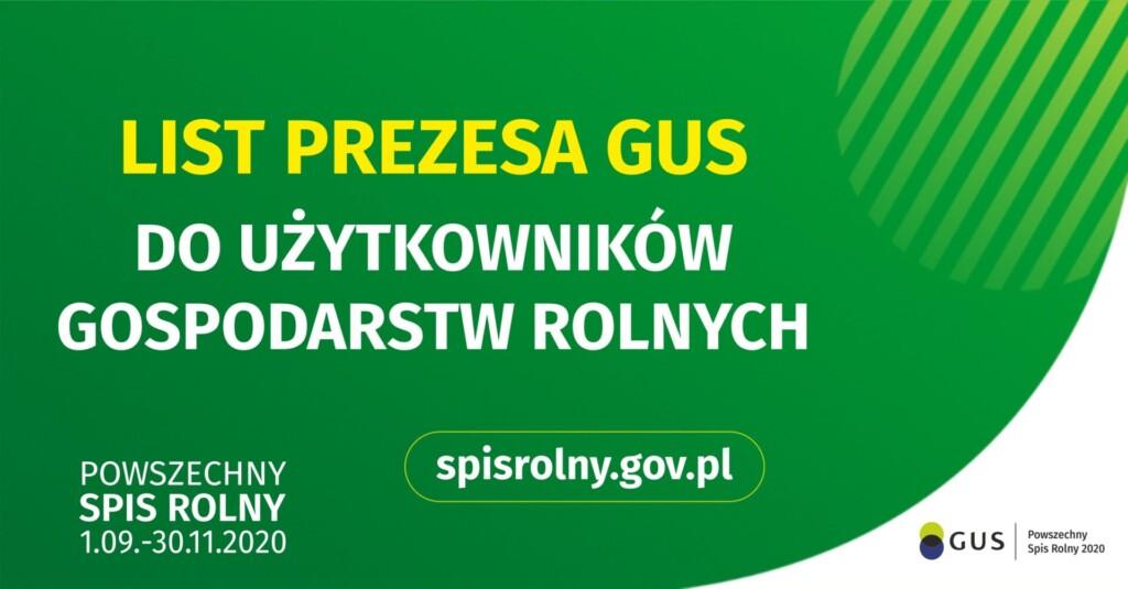 Grafika promocyjna - Powszechny Spis Rolny.