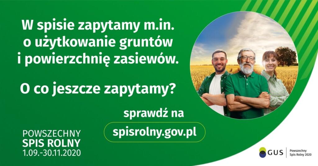Plakat - spis rolny