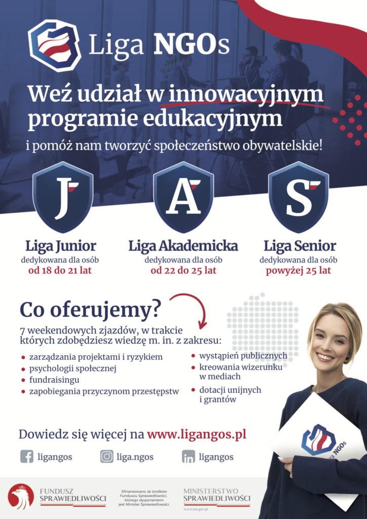 Plakat - Liga NGOs