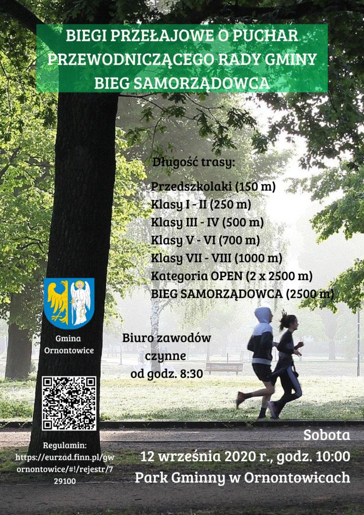 Plakat - Biegi Przełajowe