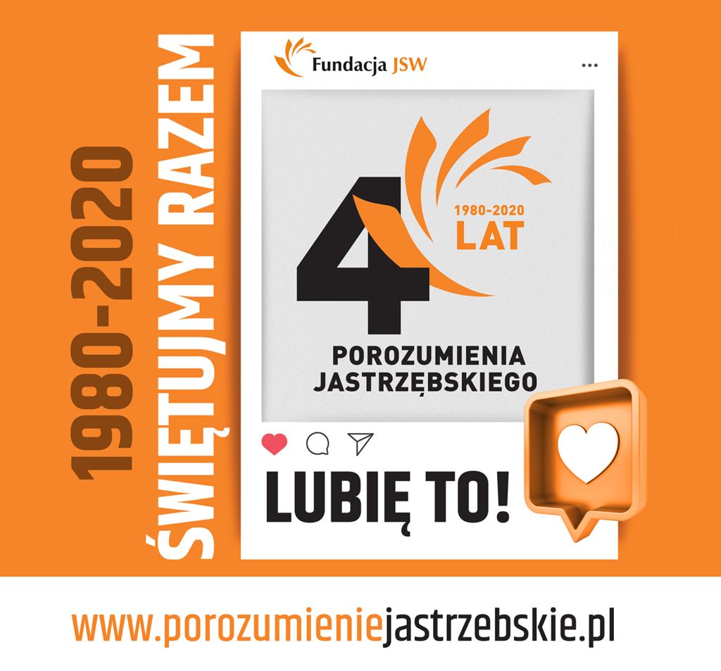 Plakat dedykowany Porozumieniu Jastrzębskiemu