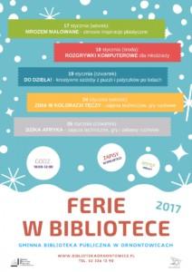 Ferie w Bibliotece 2017
