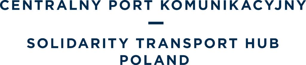 Logo Centralnego Portu Komunikacyjnego
