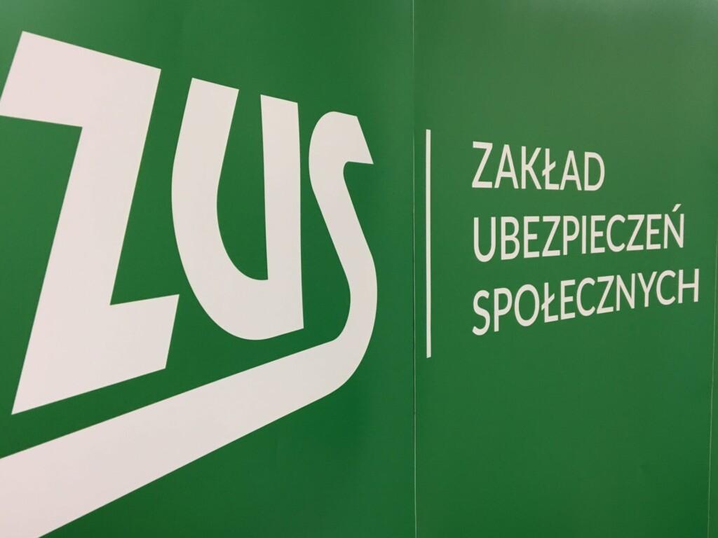 Zdjęcie logo Zakładu Ubezpieczeń Społecznych.