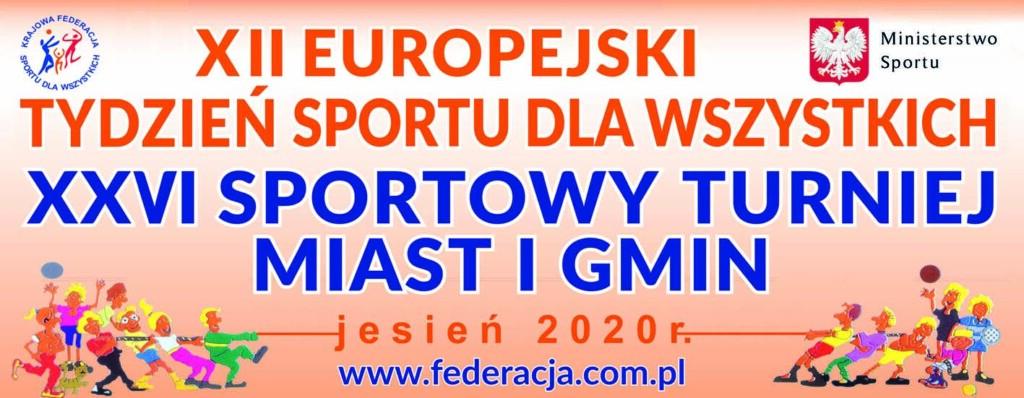 Grafika promocyjna XII Europejski Tydzień Sportu.