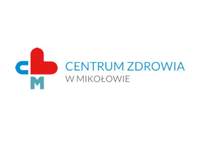 Logo Centrum Zdrowia w Mikołowie.