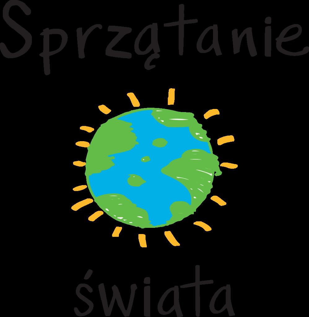 """Logo """"Sprzątanie świata""""."""