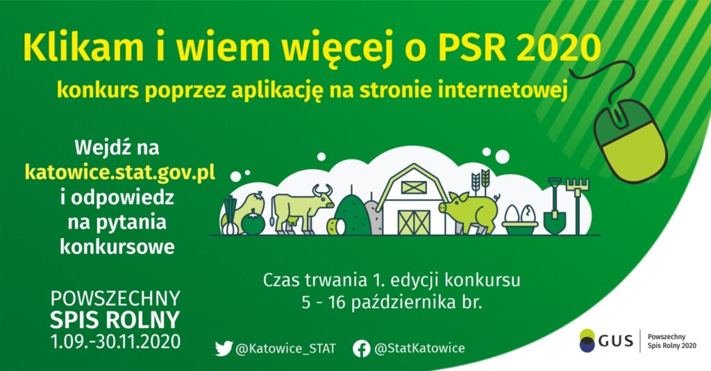 Grafika Powszechny Spis Rolny.