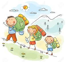 Obrazek przedstawiający dzieci w górach.