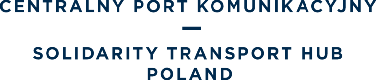 Logo Centralnego Portu Komunikacyjnego.