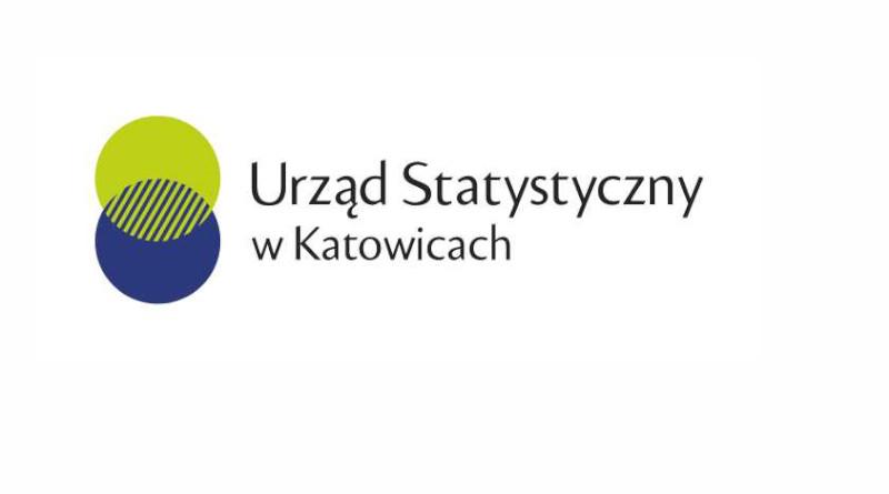 Logo Urzędu Statystycznego w Katowicach.