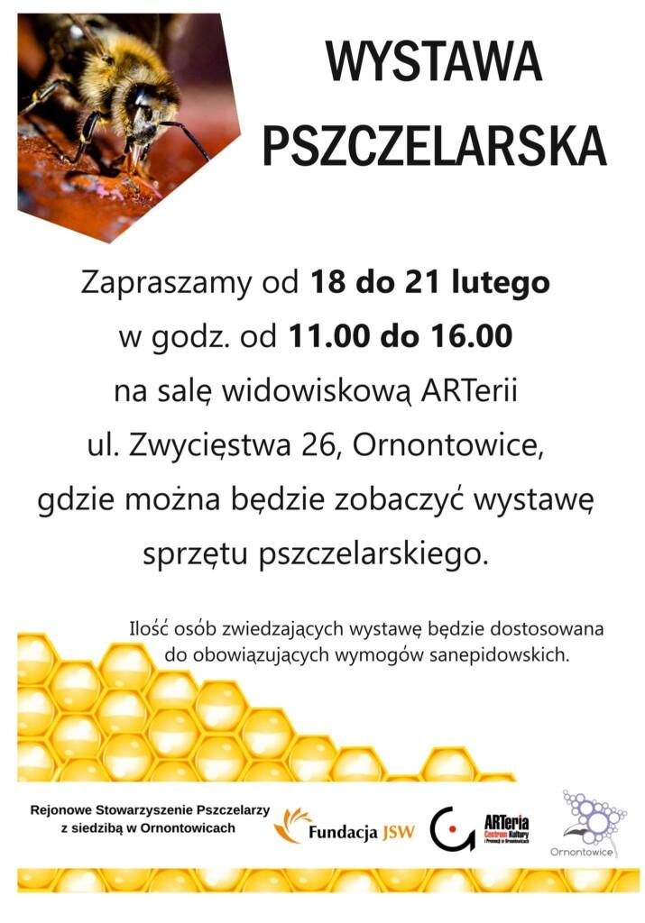Plakat - Wystawa Pszczelarska