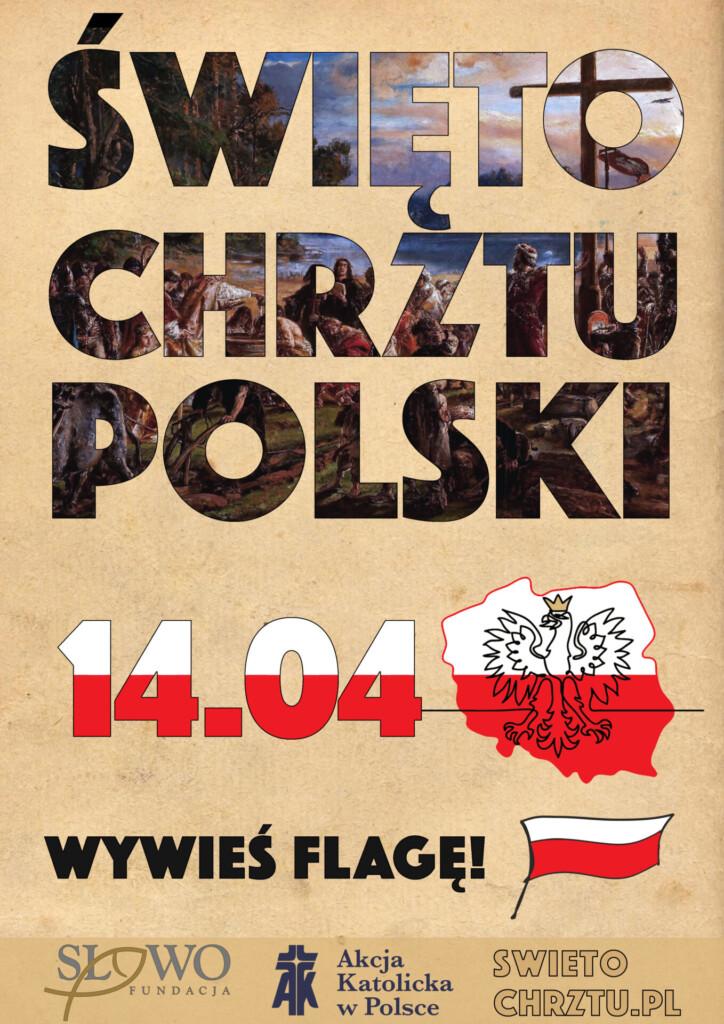 Plakat - Święto Chrztu Polski