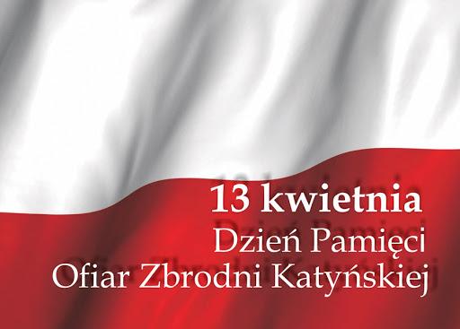 Grafika  - Dzień Pamięci Ofiar Zbrodni Katyńskiej