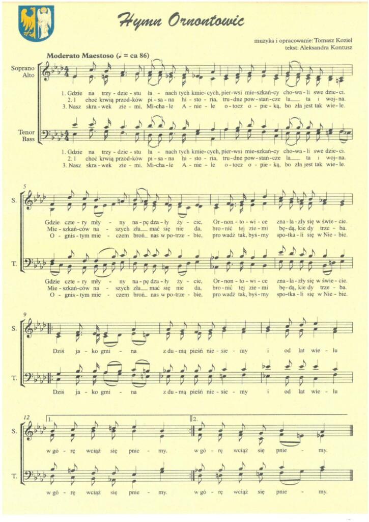 Hymn Ornontowic