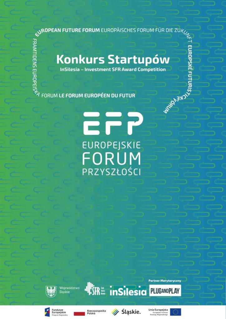 """Grafika promocyjna: Konkurs dla MSP i startupów """"InSilesia"""" – Investment SFR Award."""