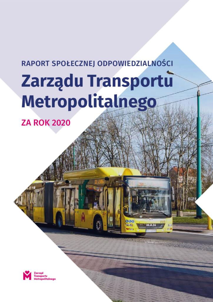 Grafika - Raport społecznej odpowiedzialności Zarządu Transportu Metropolitalnego za rok 2020