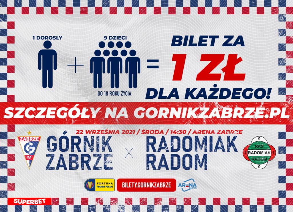 Plakat promocyjny - bilet za 1 zł!