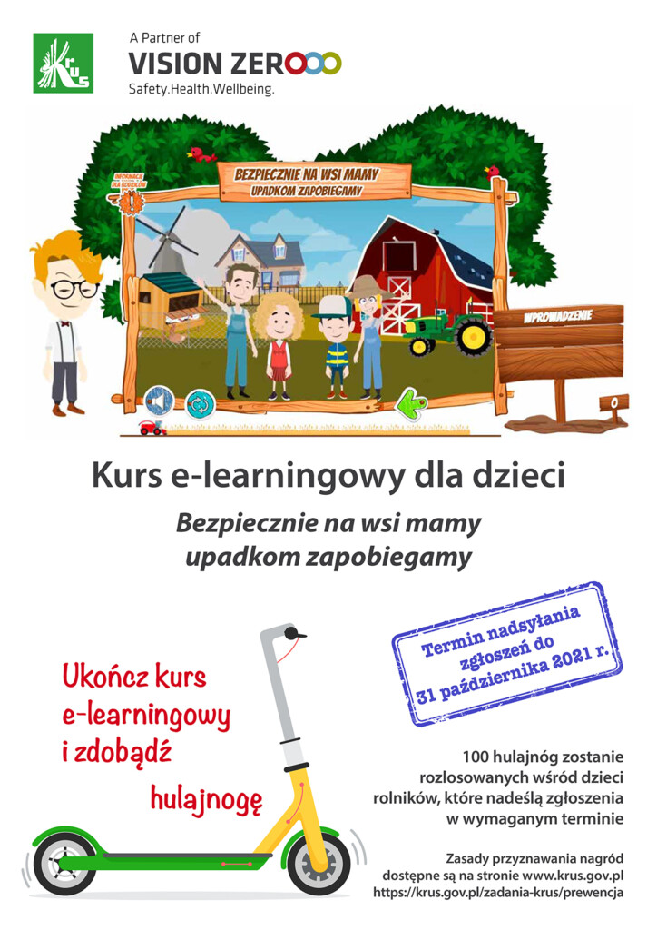 Plakat promujący konkurs.