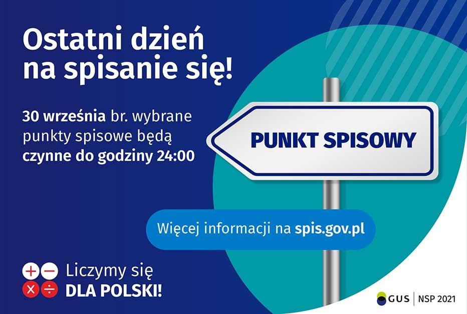 Grafika promocyjna - Spis Powszechny.