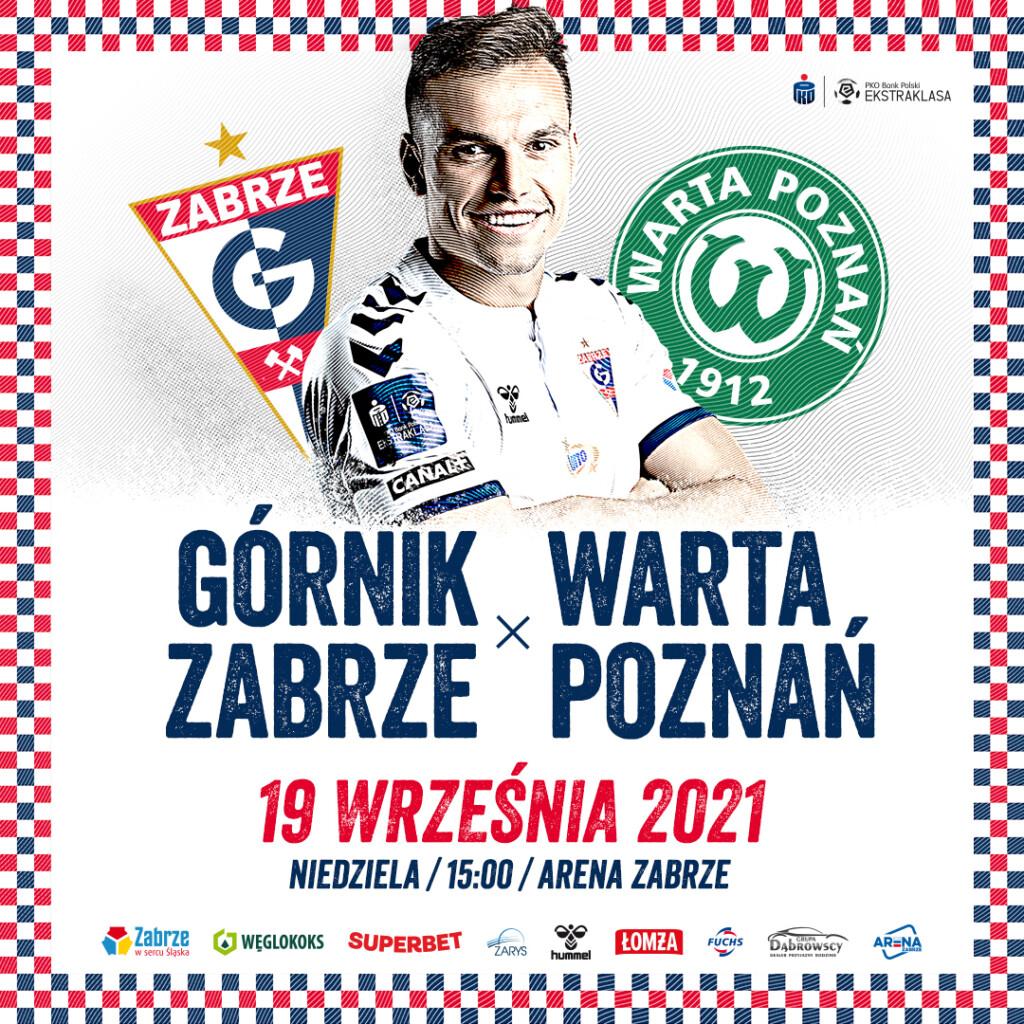 Plakat promocyjny Górnik Zabrze.