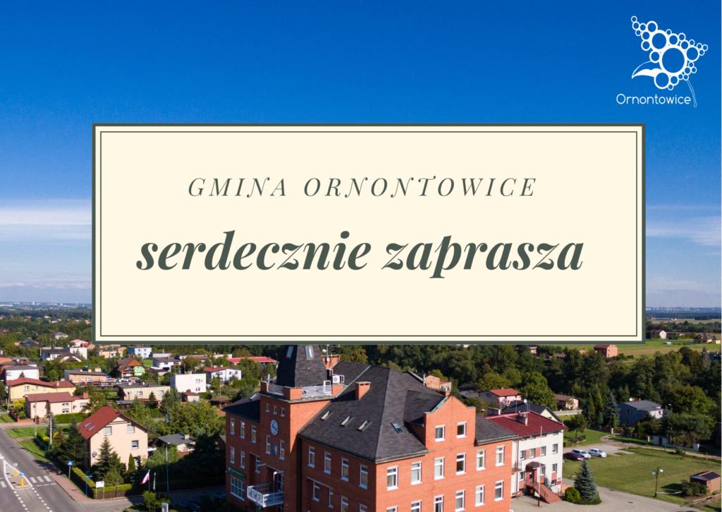 Grafika - Gmina Ornontowice serdecznie zaprasza