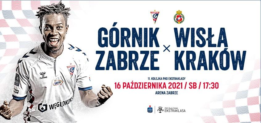 Plakat promocyjny Górnika Zabrze.